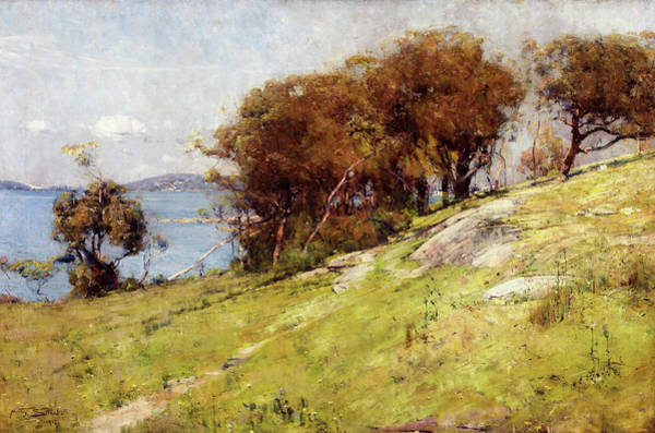 Wall Art - Painting - Cremorne Pastoral - Digital Remastered Edition by Arthur Streeton