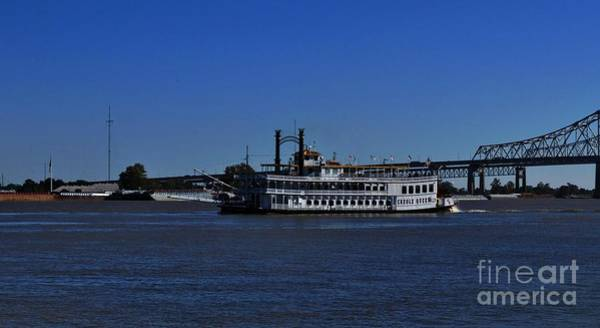 Photograph - Creole Queen Paddle Boat by Marcia Lee Jones