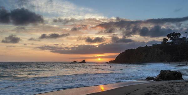 Photograph - Crescent Bay September Sunset by Cliff Wassmann