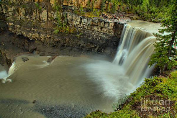 Photograph - Crescent Falls On The Bighorn River by Adam Jewell