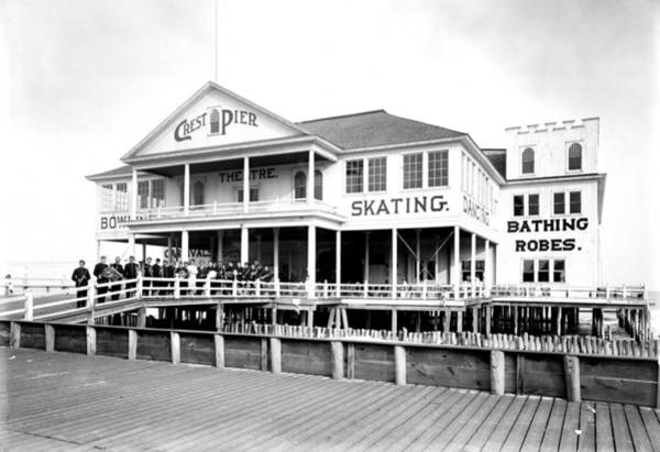 Photograph - Crest Pier by Unknown