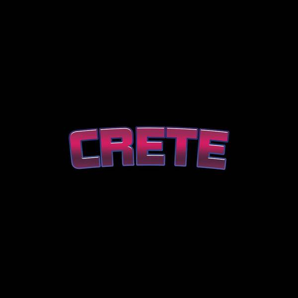 Wall Art - Digital Art - Crete by TintoDesigns