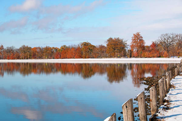 Saint Louis County Photograph - Creve Coeur Lake by Steve Stuller