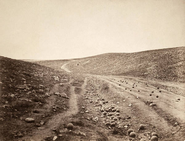 1855 Photograph - Crimean War Valley Of Death by Granger