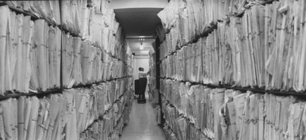 Photograph - Criminal Records File At Scotland Yard by Loomis Dean