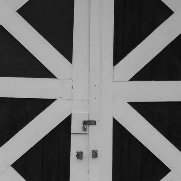 Crisscross Wall Art - Photograph - Criss Cross Doors by Bill Tomsa