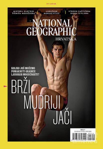 Photograph - Croatian Cover Of The July 2018 National Geographic Magazine by Mark Thiessen