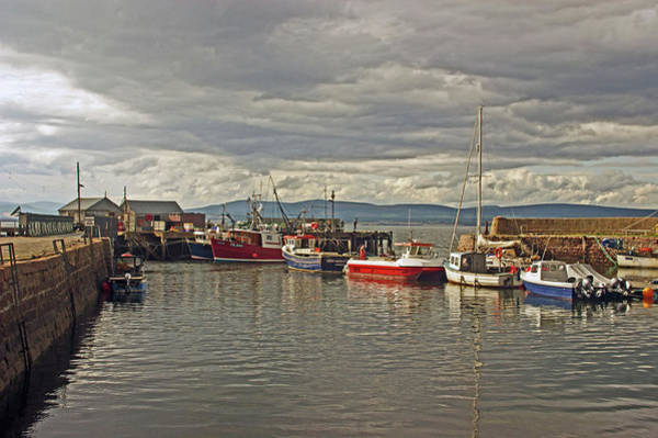 Photograph - Cromarty. The Harbour. by Lachlan Main