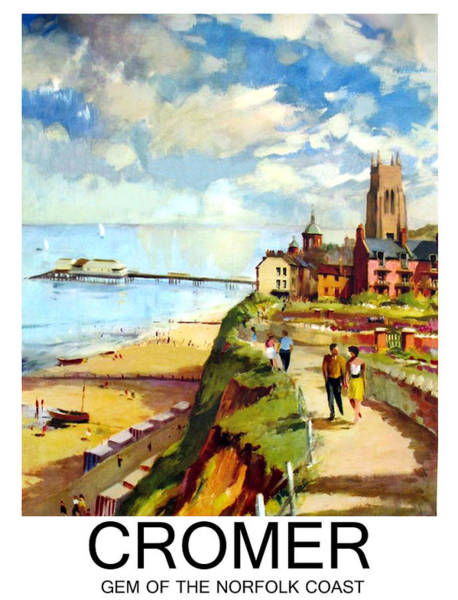 Wall Art - Painting - Cromer by Long Shot