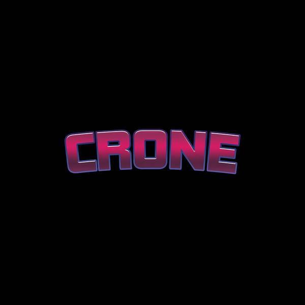Crone Wall Art - Digital Art - Crone by TintoDesigns