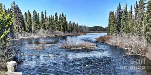 Photograph - Crooked River by Vivian Martin