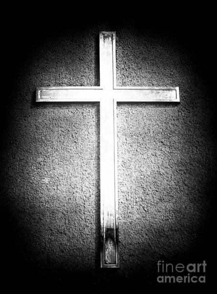 Photograph - Cross At Saint Peter's Basilica In Vatican City by John Rizzuto