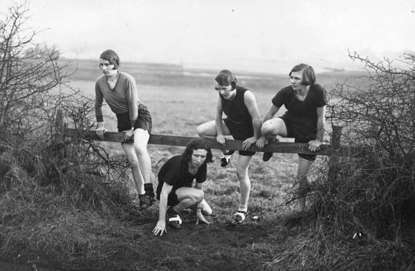 Determination Photograph - Cross Country by J A Hampton