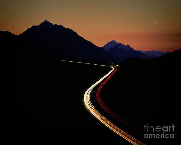 Photograph - Crossing The Alps by Edmund Nagele