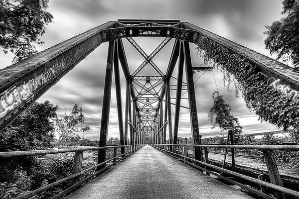 Red Bluff Photograph - Crossing The Carpenters Buff Bridge by JC Findley