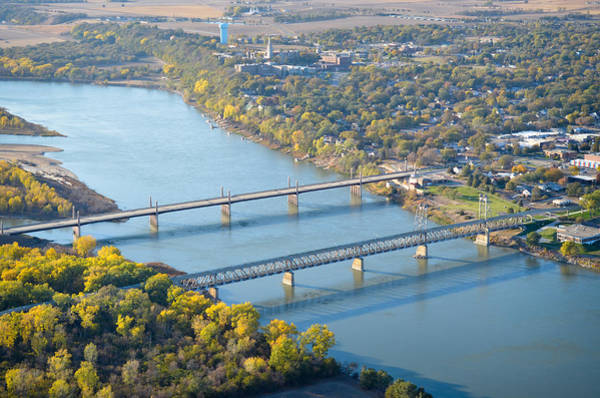 Photograph - Crossing The Missouri by Carl Young