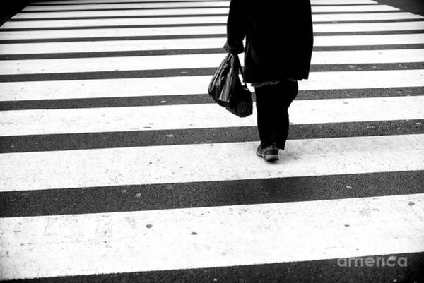 Photograph - Crossings At Your Own Pace New York City by John Rizzuto