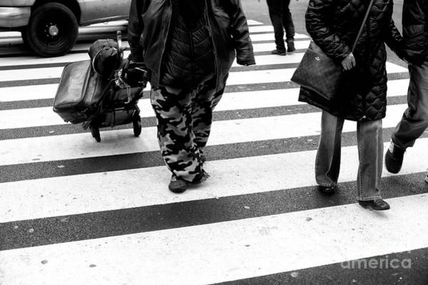 Photograph - Crossings Camo Style New York City by John Rizzuto
