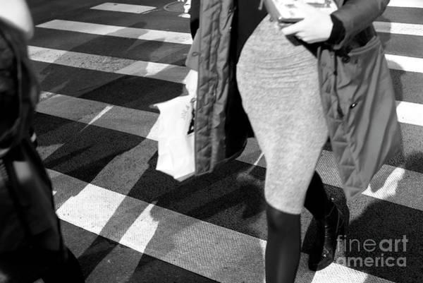 Photograph - Crossings Figure New York City by John Rizzuto