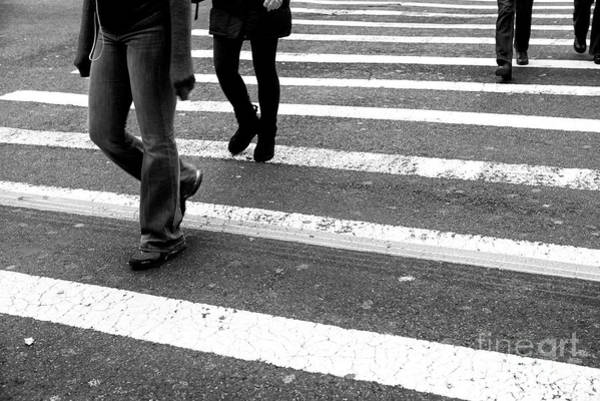 Photograph - Crossings Hands Covered New York City by John Rizzuto