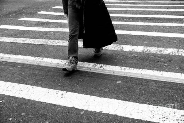 Photograph - Crossings Hiking Boots New York City by John Rizzuto