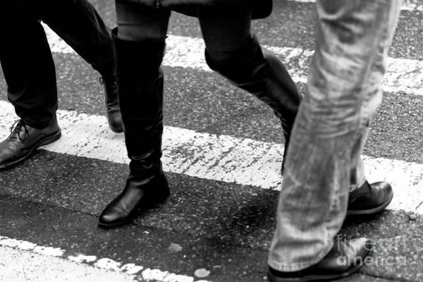 Photograph - Crossings Hokey Pokey New York City by John Rizzuto