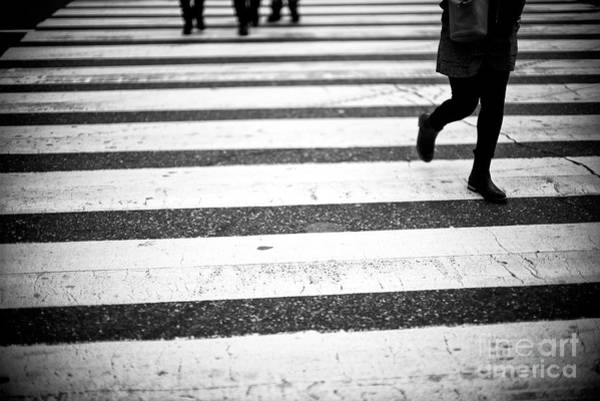 Photograph - Crossings In Pursuit New York City by John Rizzuto