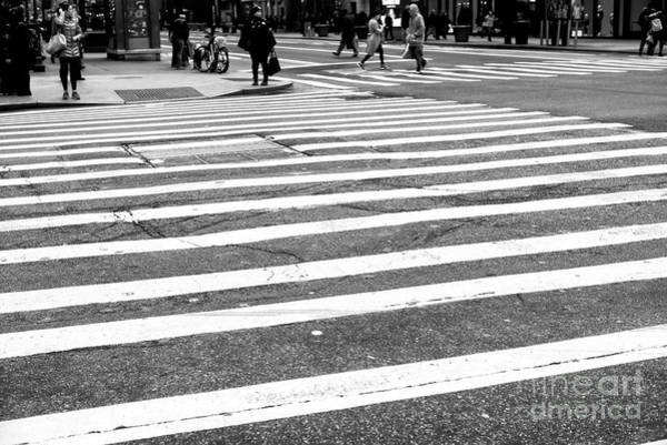 Photograph - Crossings In The Distance New York City by John Rizzuto