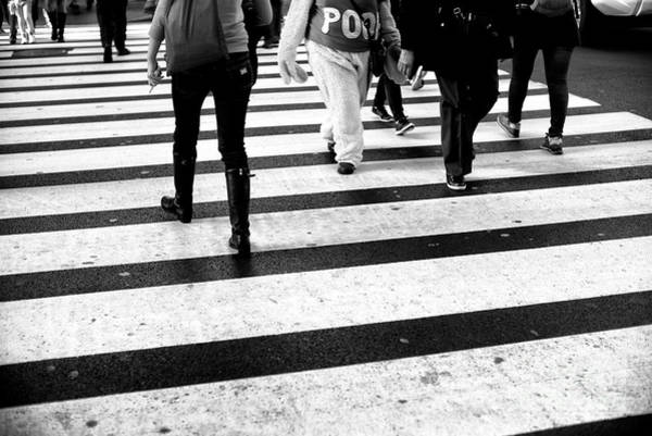 Photograph - Crossings Pooh Bear New York City by John Rizzuto