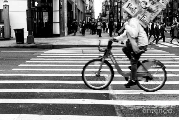Photograph - Crossings Protest New York City by John Rizzuto