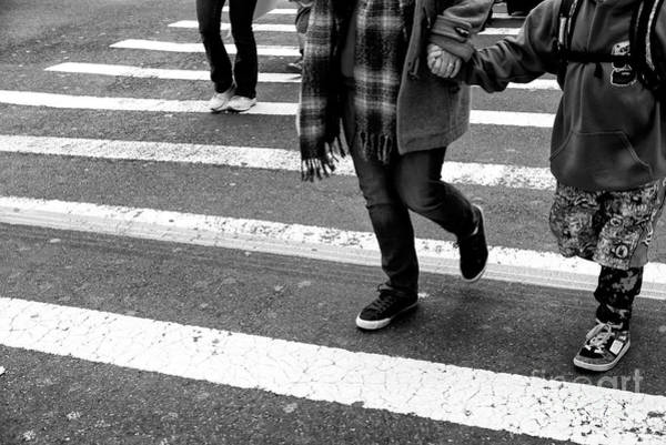 Photograph - Crossings Safely New York City by John Rizzuto