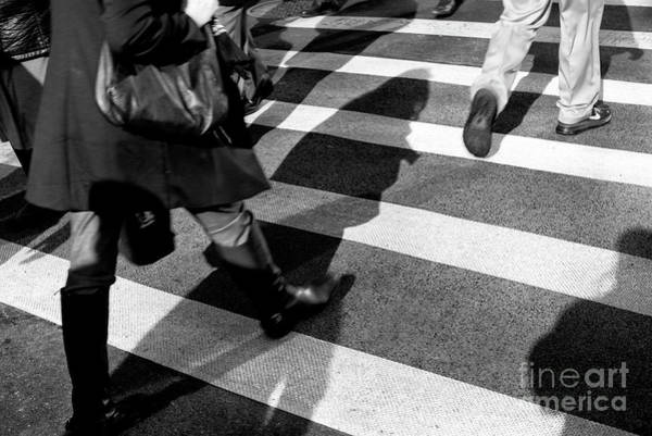 Wall Art - Photograph - Crossings Shadow First New York City by John Rizzuto
