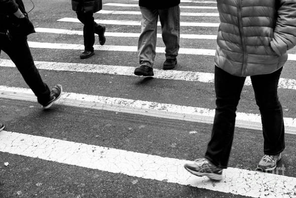 Photograph - Crossings Strangers In The Night New York City by John Rizzuto