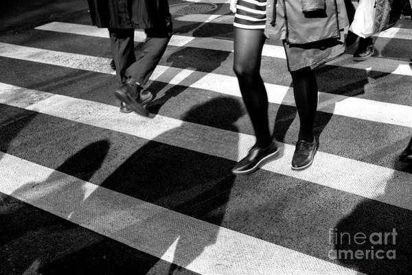Photograph - Crossings Striped New York City by John Rizzuto