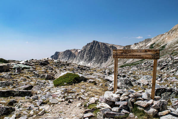 Photograph - Crossroads At Medicine Bow Peak by Nicole Lloyd
