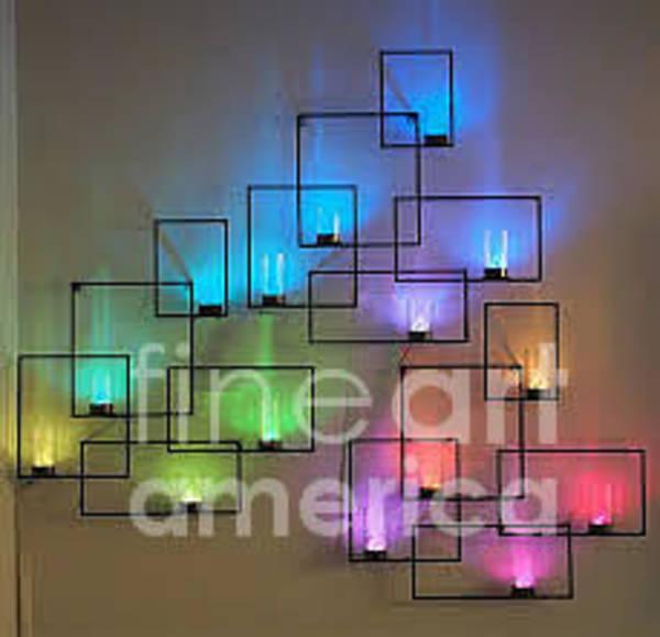 Sculpture - Crossword Of Lght,cool Xcolors by Kasey Jones