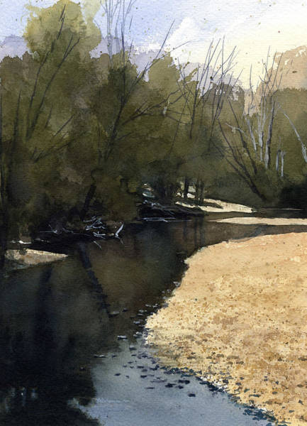 Painting - Crow Creek, Augusta, Missouri by James Faecke
