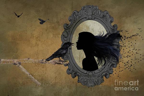 Mistress Photograph - Crow Flies by Jim Hatch