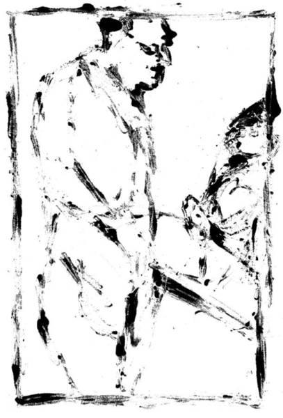 Digital Art - Crowd Digitally Whitened Paper by Artist Dot