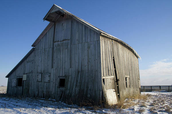 Photograph - Crowned Light Barn by Dylan Punke