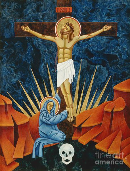 Golgotha Painting - Crucifixion By Jodi Simmons by Jodi Simmons