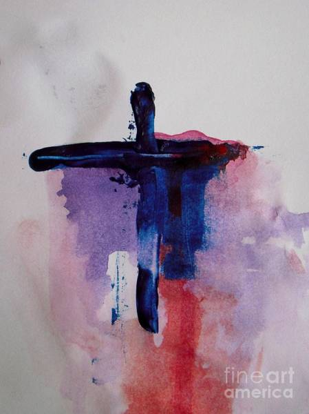 Redemption Painting - Crucifixion by Vesna Antic
