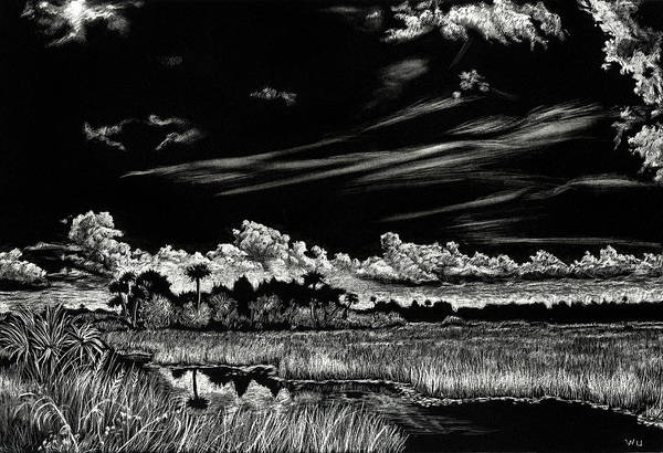 Drawing - Cruickshank Trail by William Underwood