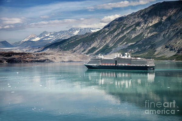 Wall Art - Photograph - Cruise Ship by Timothy Johnson