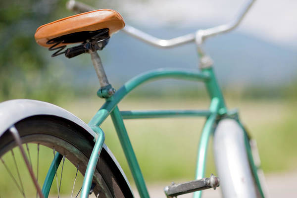 Bicycle Photograph - Cruiser Bicycle by Rocksunderwater