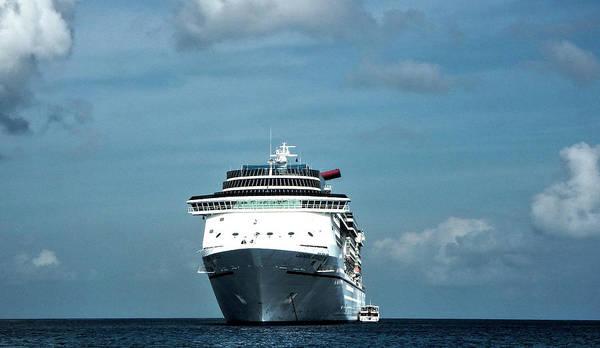 Photograph - Cruising The Caribbean by Judy Hall-Folde