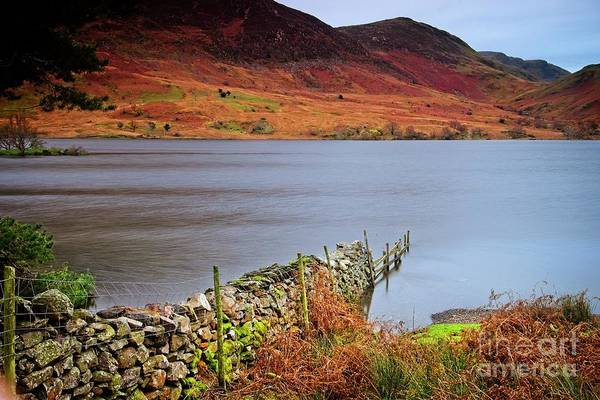 Photograph - Crummock Water - English Lake District by Martyn Arnold