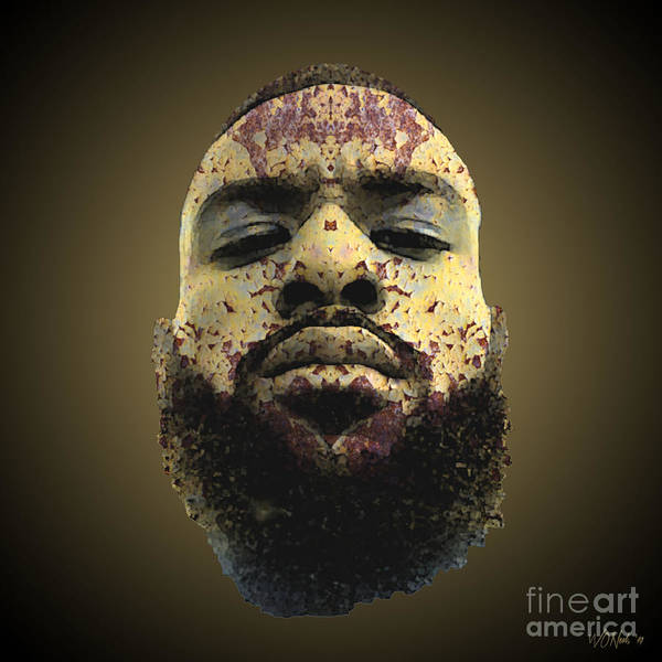 Digital Art - Cryptofacia 161 - Ricky by Walter Neal
