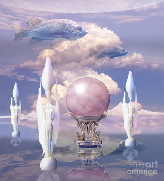 Digital Art - Crystal Ball by Alexa Szlavics