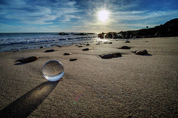 Photograph - Crystal Ball Sunset by John Rodrigues